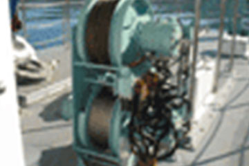 Two-drum Marine Winch